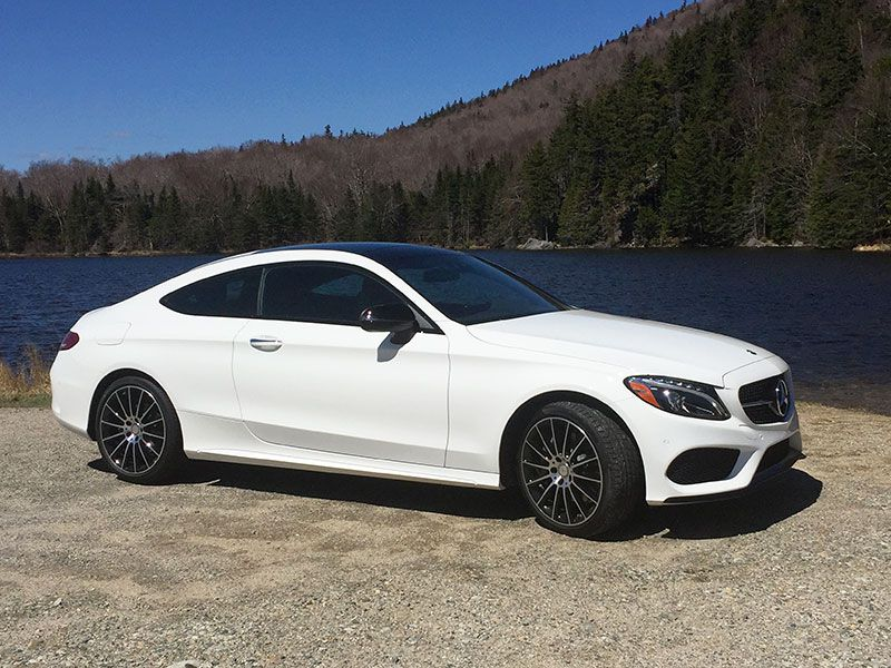 2017 Mercedes Benz C300 Coupe Road Test And Review