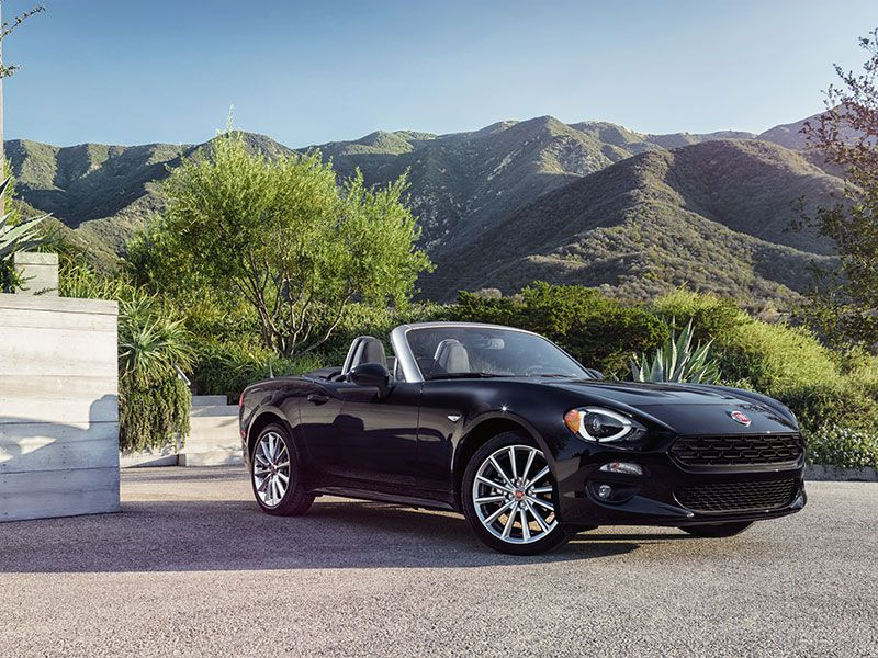2017 Fiat 124 Spider Road Test and Review