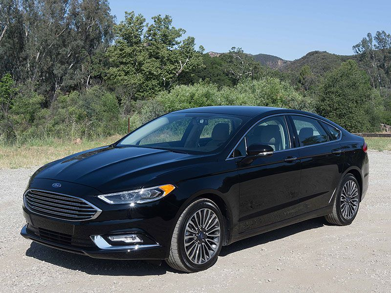 2017 Ford Fusion Road Test And Review Autobytel Com