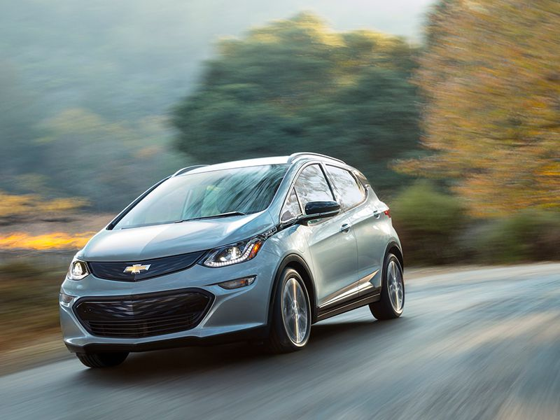 2017 Chevrolet BoltEV Profile