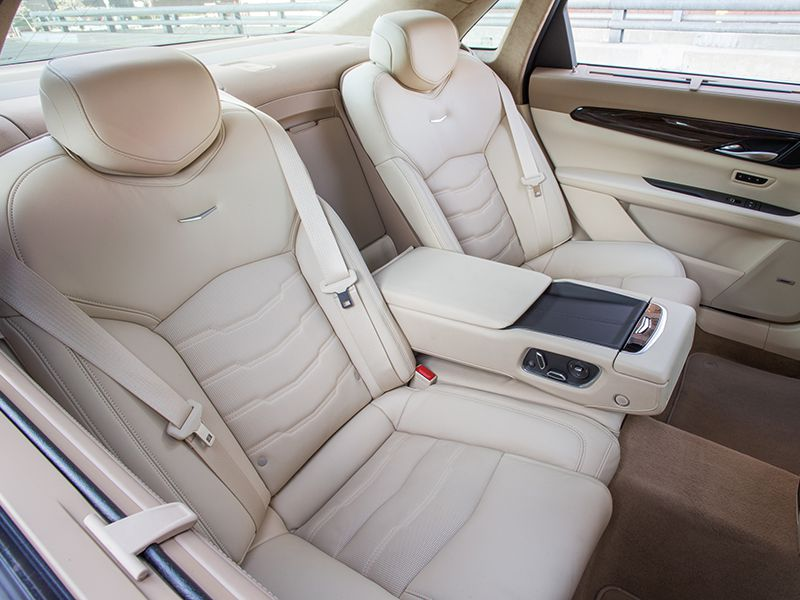 2016 Cadillac CT6 Platinum : car with reclining back seat - islam-shia.org