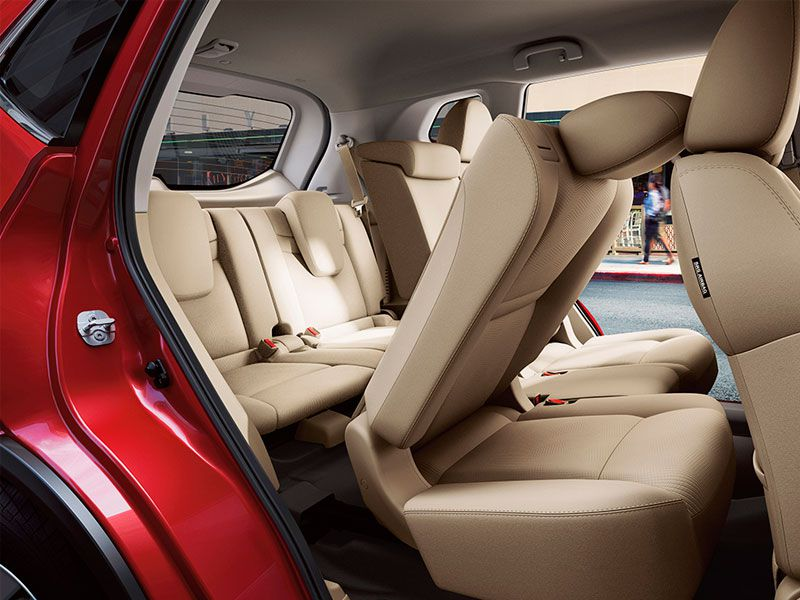 Nissan Rogue  Family Package Car Seat In Third Row