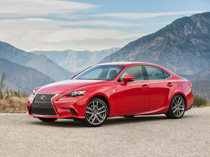 10) 2016 Lexus IS 350 F