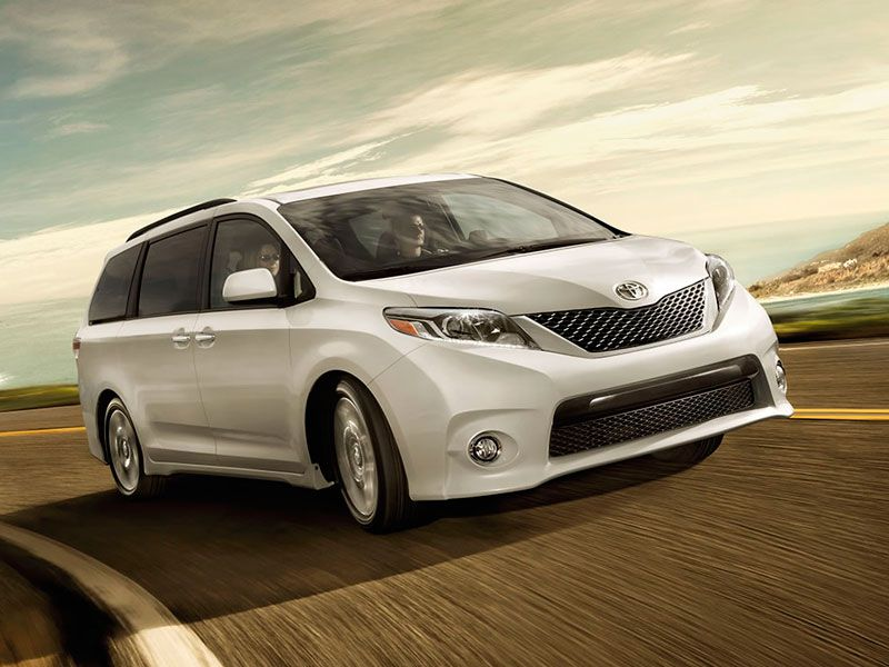 2016 toyota sienna road test and review. Black Bedroom Furniture Sets. Home Design Ideas
