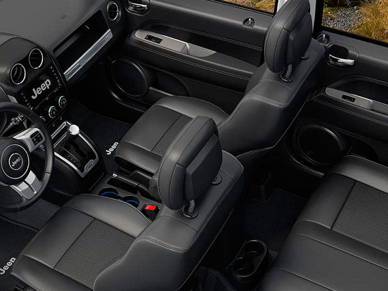 Interior Design And Capacities. The 2016 Jeep Compass ...