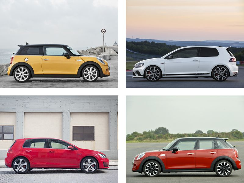 Mini Cooper S Vs Volkswagen Gti Which Is Best Autobytelcom