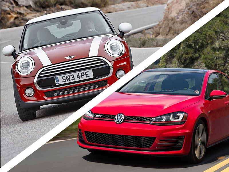 Mini Cooper S Vs Volkswagen Gti Which Is Best Autobytel Com