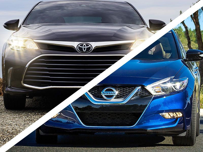 2016 Toyota Avalon Vs Nissan Maxima Which Is Best Autobytel