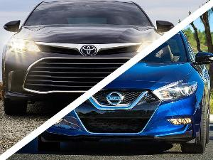 2016 Toyota Avalon vs. 2016 Nissan Maxima: Which is Best?
