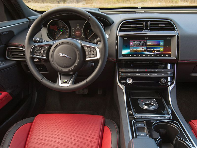 2017 Jaguar Xe 35t Prestige Features And Controls