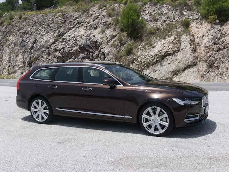 2017 volvo v90 road test and review. Black Bedroom Furniture Sets. Home Design Ideas