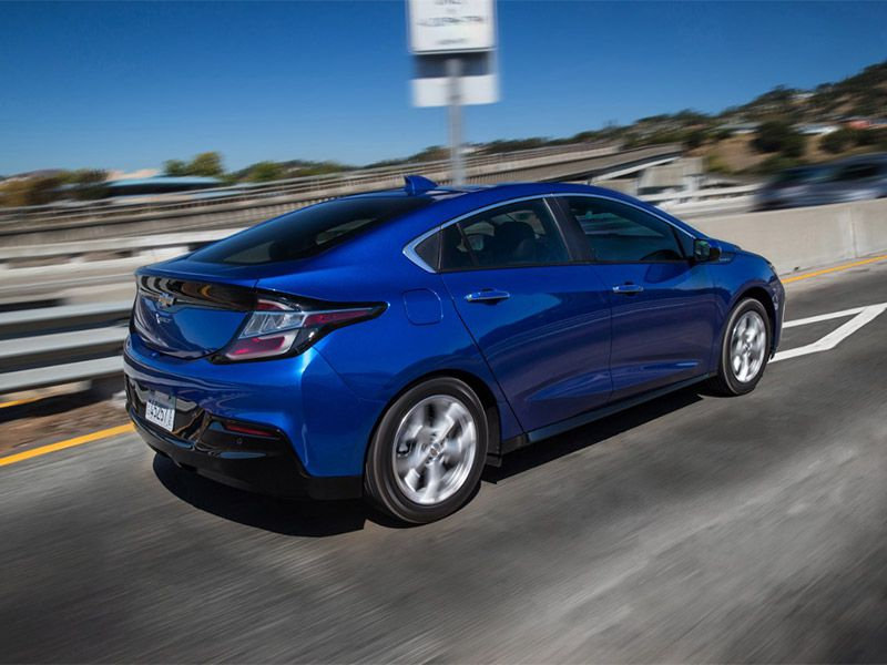 2016 Chevrolet Volt on road