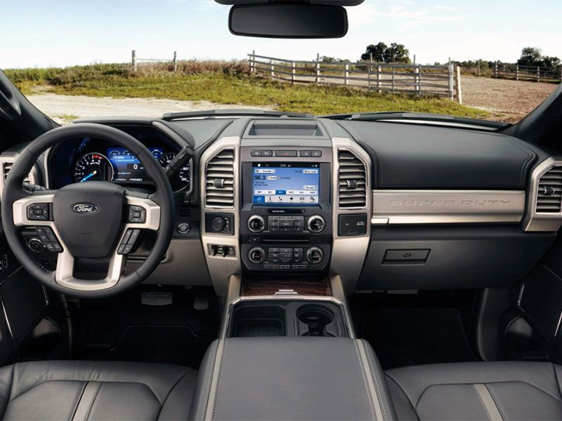 5 2017 Ford F Series Super Duty Improved Luxury Packages