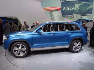 2013 Volkswagen CrossBlue Preview: North American International Auto Show