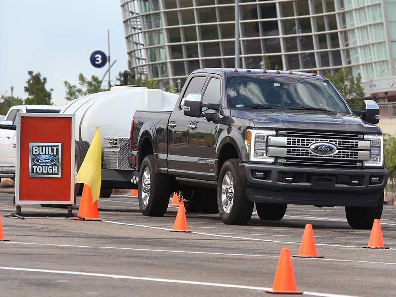 F350 Towing Capacity >> 2017 Ford F-250 Super Duty 4x4 Crew Cab King Ranch Test Drive and Review | Autobytel.com