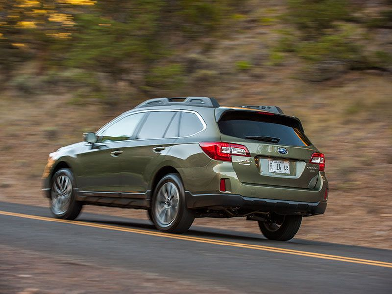2017 subaru outback road test and review. Black Bedroom Furniture Sets. Home Design Ideas