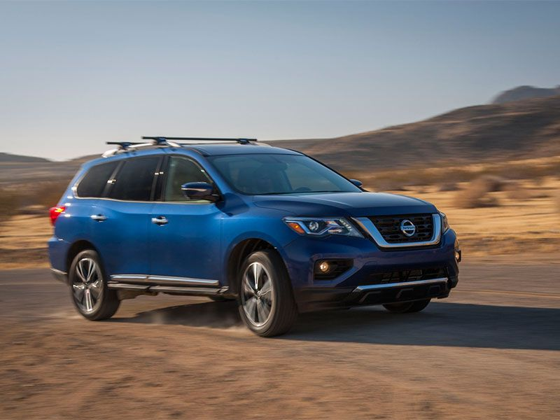 2018 Nissan Pathfinder 6 000 Pounds