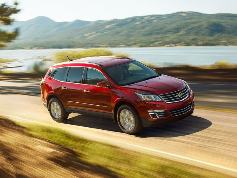 2017 Chevrolet Traverse Road Test And Review