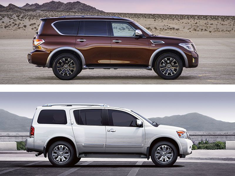 2017 nissan armada road test and review. Black Bedroom Furniture Sets. Home Design Ideas
