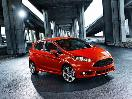 2016 Ford Fiesta ST exterior front angle
