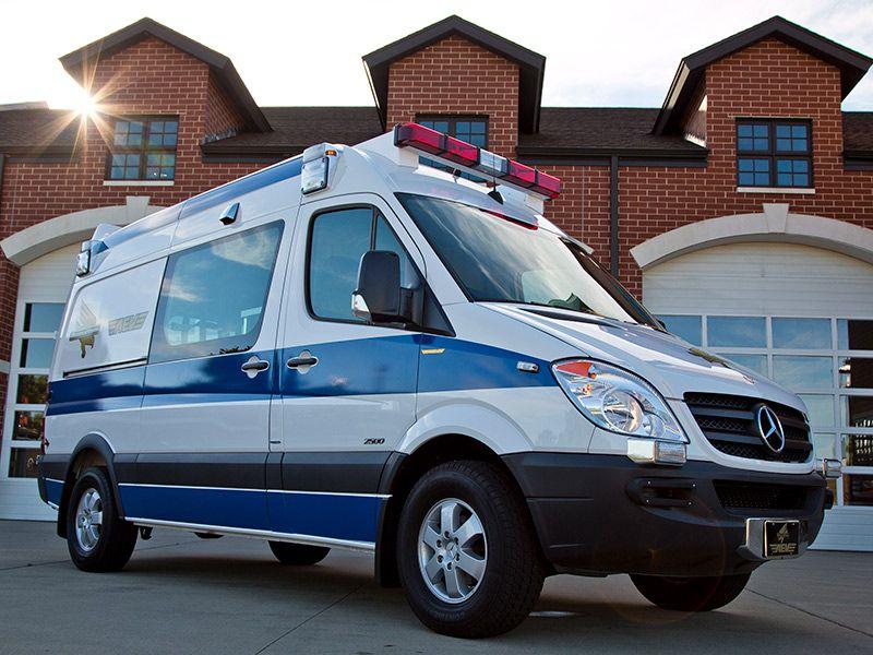 Traumahawk Ambulance By AEV