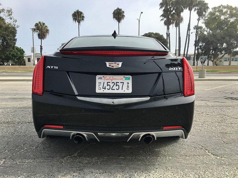 2016 Cadillac Ats 2 0l Turbo Premium Collection Rwd Sedan Road Test