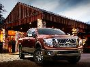 2016 Nissan TITAN XD exterior front angle with grille1