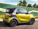 2017 smartfortwo cabriolet rear profile parked
