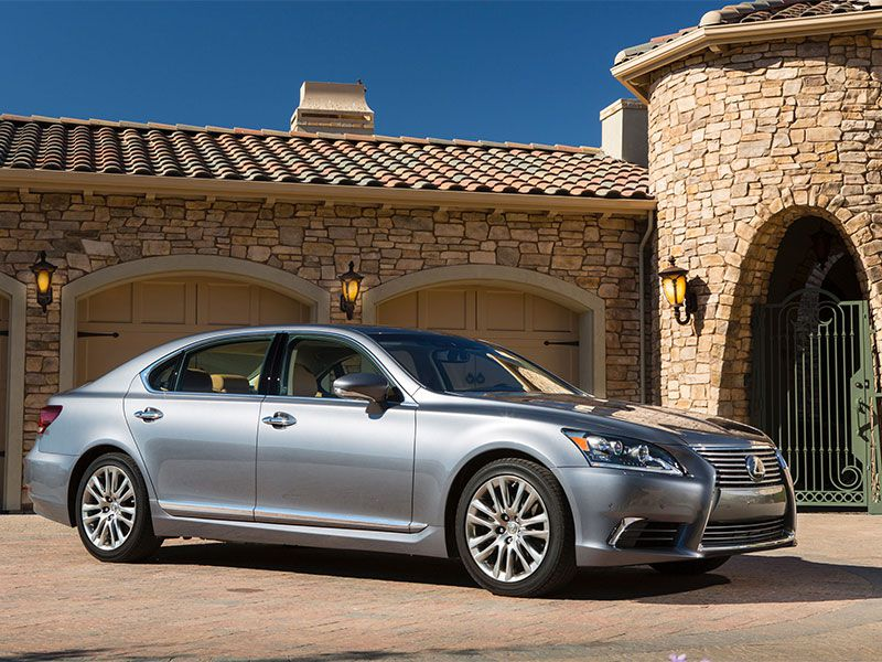 Lexus Ls Best Luxury Cars: 10 Best Luxury Cars Under 100k
