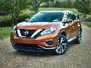 2016 nissan murano exterior front vire with grille