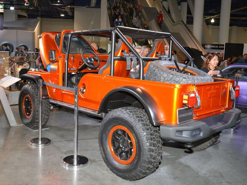 must see vehicles from the 2016 sema auto show. Black Bedroom Furniture Sets. Home Design Ideas