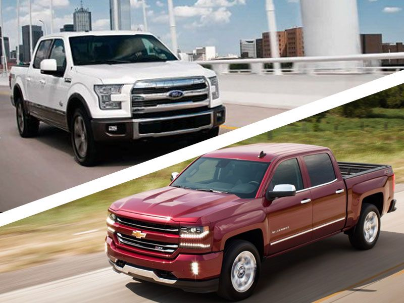 Chevrolet Silverado Vs Ford F Which Is Best - Chevrolet ford