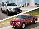 2017 Ford F 150 vs 2017 Chevrolet Silverado