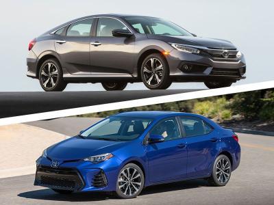 Toyota Corolla Vs Honda Civic >> 2017 Honda Civic Vs 2017 Toyota Corolla Which Is Best