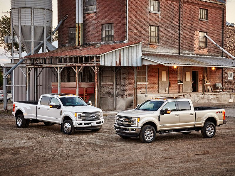 2017 ford f 350 road test and review. Black Bedroom Furniture Sets. Home Design Ideas