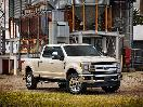 2017 Ford F 350 KingRanch exterior front angle1
