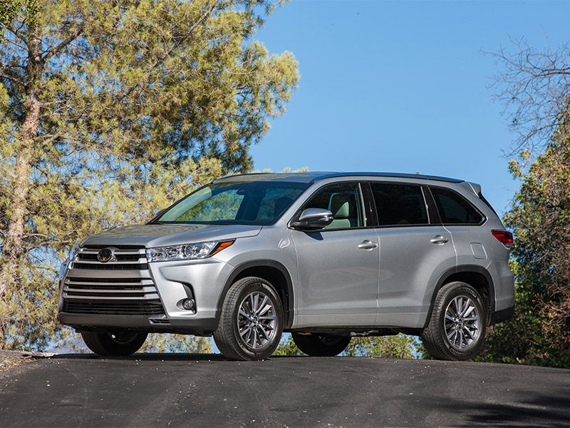 2017 Toyota Highlander Road Test and Review