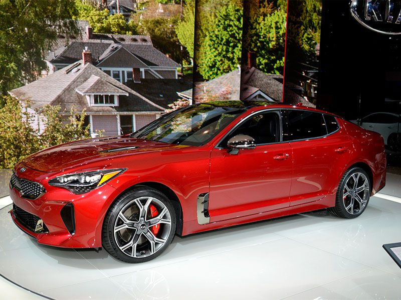 Must see cars and trucks at the 2017 chicago auto show for Kia motor company usa