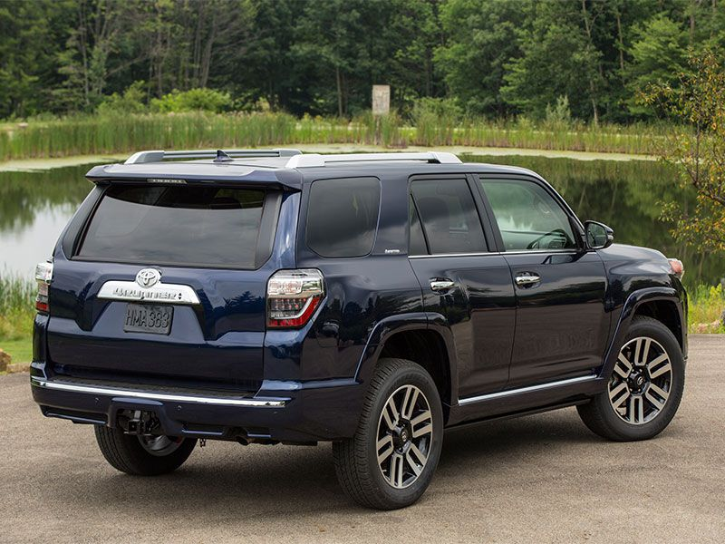 2017 toyota 4runner road test and review. Black Bedroom Furniture Sets. Home Design Ideas