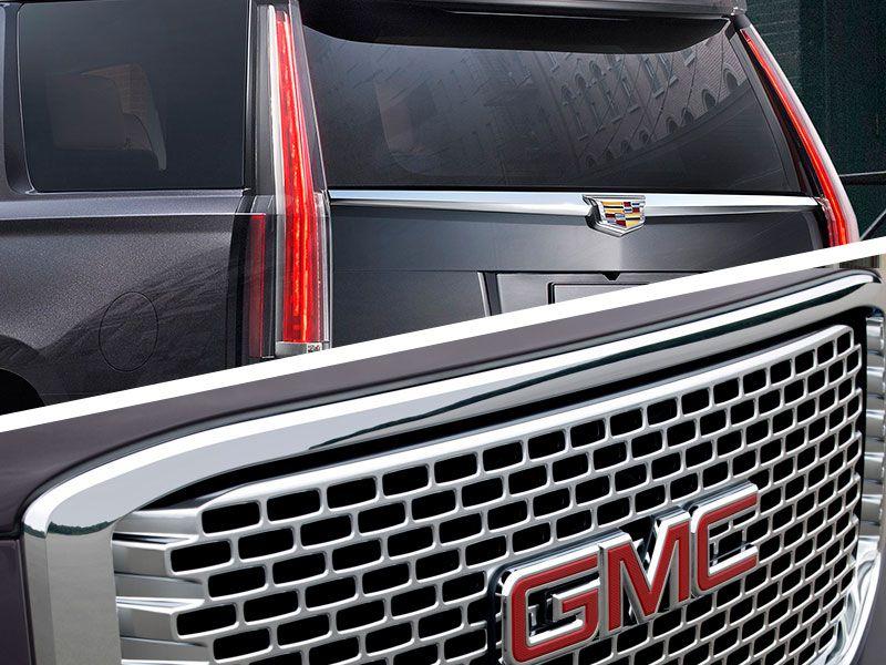 2017 Cadillac Escalade Vs Gmc Yukon Denali Exterior Design