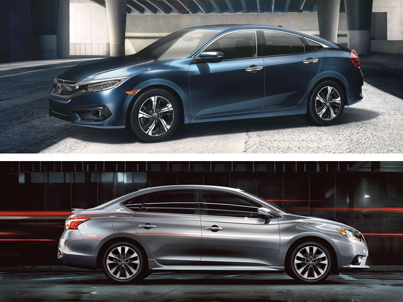 2017 Honda Civic Vs. 2017 Nissan Sentra: Which Is Best?
