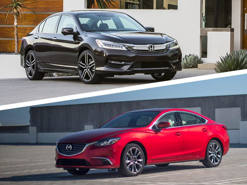 2017 Honda Accord Vs Mazda6 Which Is Best