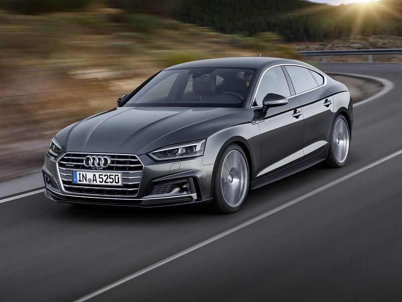 2019 Audi A5 Sportback Gray Front Three Quarter
