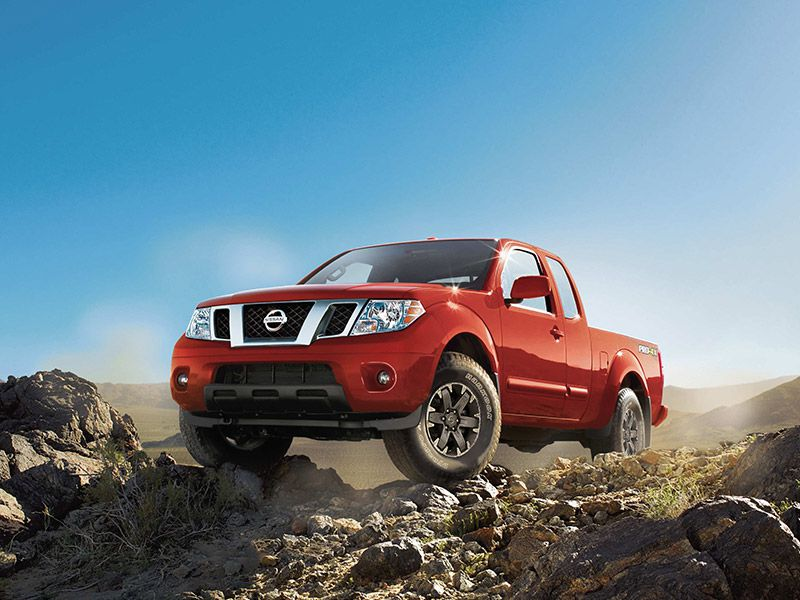 2017 Nissan Frontier Road Test and Review