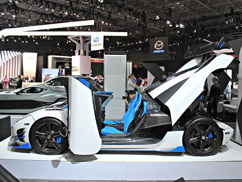 New York Auto Show Mega Photo Gallery Autobytelcom - New york auto show