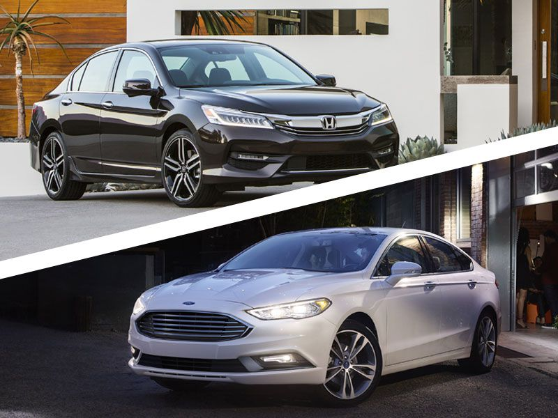2017 Honda Accord Vs Ford Fusion Which Is Best
