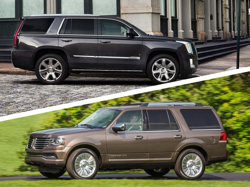 2017 Cadillac Escalade Vs 2016 Lincoln Navigator Which Is Best