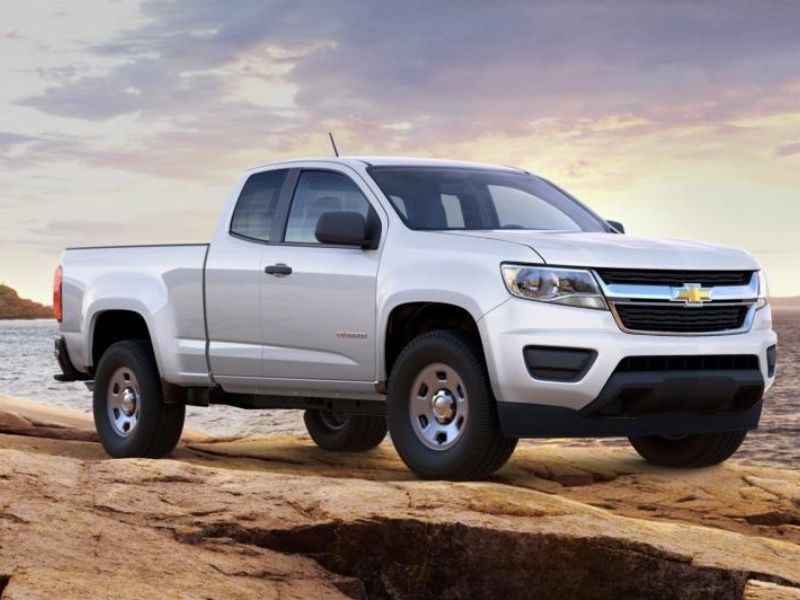 2017 Chevrolet Colorado Base Extended Cab The Bowtie Brand S Best New Trucks