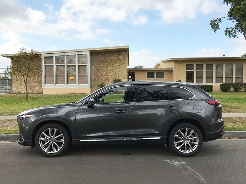 2017 mazda cx 9 road test and review. Black Bedroom Furniture Sets. Home Design Ideas