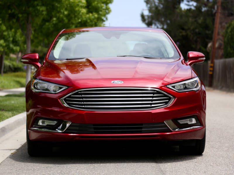 2017 Ford Fusion Hybrid Road Test And Review Autobytel Com
